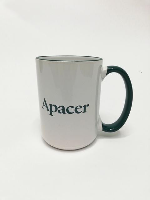 Apacer. Печать на чашке Apacer. Печать на чашках Apacer. Печать на чашках в Киеве.