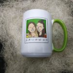 Кружка friends. Печать на чашках Киев. Печать на кружках. Стильная печать. Печать на подарок. Подарок friends.