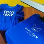 Футболка City Zen. Быстра печать на футболках. Печать формы для сотрудников. Печать для кофе. Печать логотипа на футболке. Срочная печать логотипа.