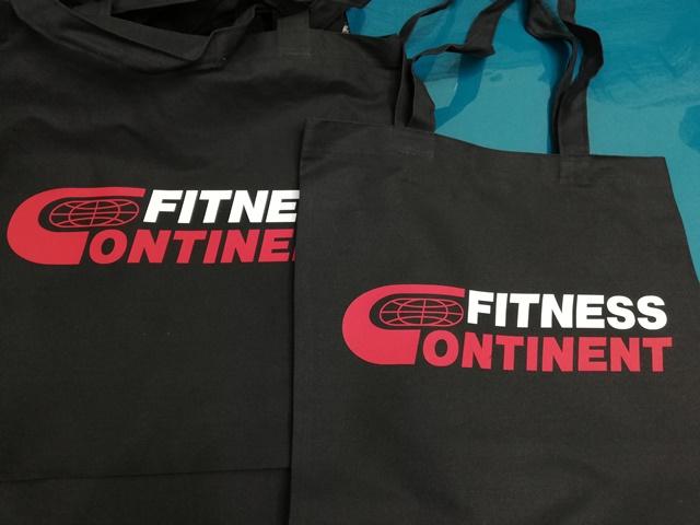 Сумки Fitness Continent. Подарок для спортсмена. Экосумки сумки. Печать на эко сумках. Fitness Continent. Эко сумки Fitness Continent.