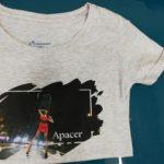 Apacer. Печать на футболках Apacer. Печать Apacer. Печать на футболках в Киеве. Футболки оптом. Киев печать логотипа. Логотип Apacer.