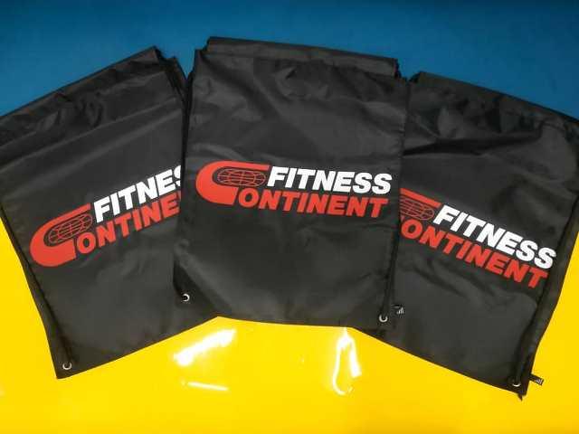 Печать для Fitness Continent. Сумки Fitness Continent. Подарок для спортсмена. Спортивные сумки. Печать на спортивных сумках. Fitness Continent. Спортивные сумки Fitness Continent.