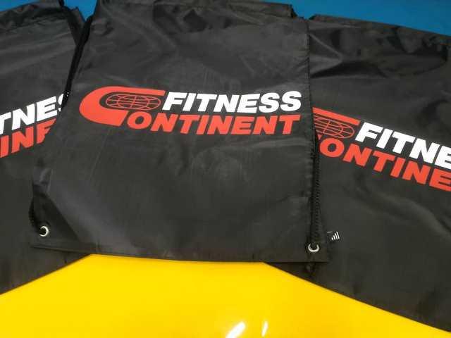 Сумки Fitness Continent. Подарок для спортсмена. Спортивные сумки. Печать на спортивных сумках. Fitness Continent. Спортивные сумки Fitness Continent.
